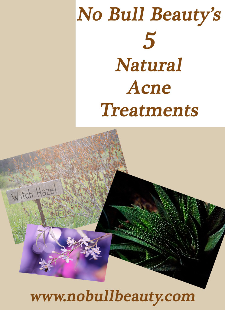 5 natural acne treatments